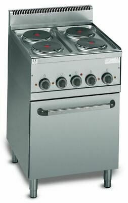 Electric Stove with 4 round Hot Plates, 600x600x900 MM