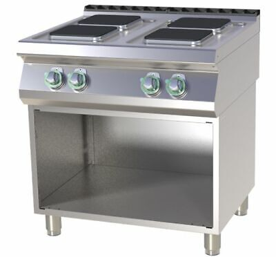 Electric Stove with Base, 800x730x900 MM