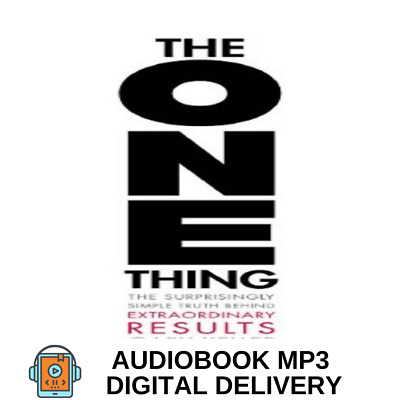 AudioBook The ONE Thing: The Simple Truth Behind Extraordinary Results