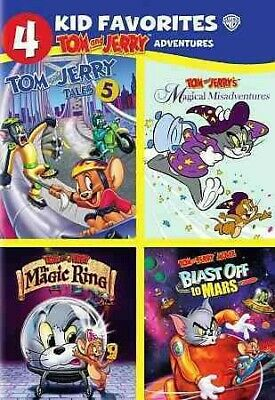 4 Kid Favorites: Tom and Jerry's Adventures, DVD, 2016, UPC 883929535965
