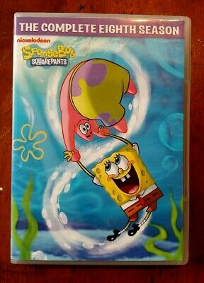 Spongebob Squarepants: The Complete 8th Eighth Season DVD 2013 4-Disc Set