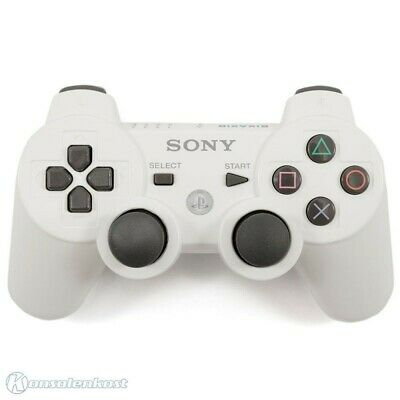 PS3 / Playstation 3 - originale Sixaxis Wireless controller #bianco [Sony] usato