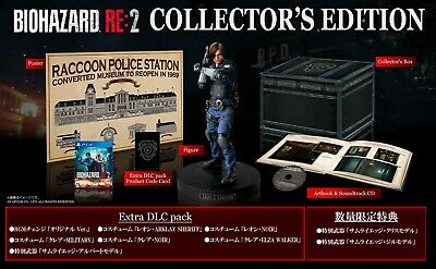 BIOHAZARD RE:2 COLLECTOR'S EDITION PS4 Japan Resident Evil Capcom brand new ps