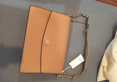18d0f4ffa16 TORY BURCH PARKER LRG CONVERTIBLE SHOULDER BAG ROYAL Cardamom NAVY  458