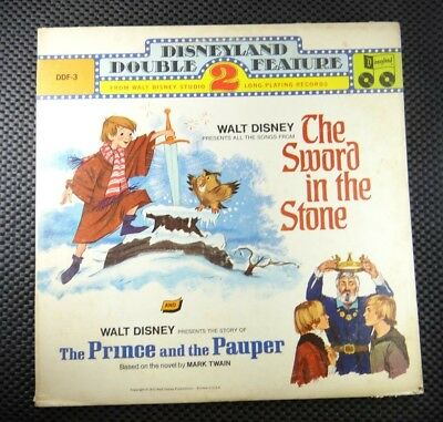 The Sword In The Stone / The Prince And The Pauper (Disneyland – DDF-3)