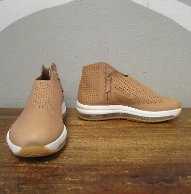 604701e4c5102 NIKE ZOOM MODAIRNA Womens 7.5 Brown Perforated Leather Casual - 880884 200