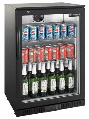 Bottle Cooler, 138 Litre, 600x520x900 mm, with Glass