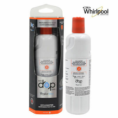 1 to 4 Pack EveryDrop Drop 2 EDR2RXD1 Whirlpool W10413645A Fridge Water Filter 2