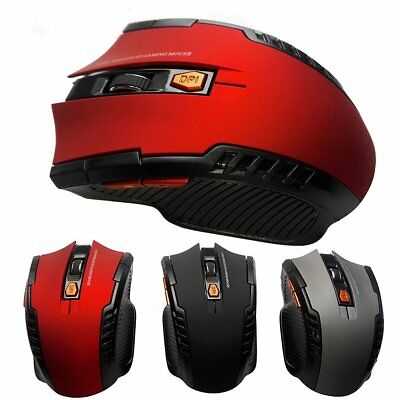 2.4GHz Wireless Arc Optical Mouse Mice+USB Receiver Rechargeable for PC Laptop