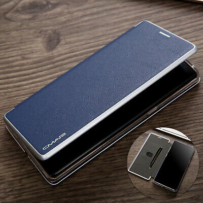 For Samsung Galaxy S10 Plus S10e Case Luxury Leather Wallet Magnetic Flip Cover