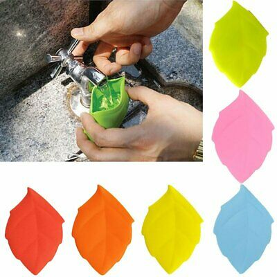 Mini Portable Silicone Leaf Shape Mug Travel Camping Hiking Home Water Drink Cup