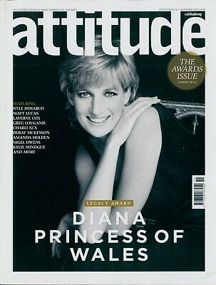Attitude - Issue 289 - Princess Diana Cover