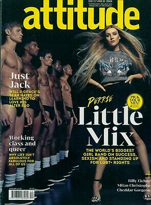 Attitude - Issue 303b - Little Mix - Perrie Edwards Cover