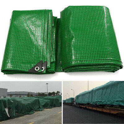 Strong Waterproof Tarpaulin Camping Ground Sheet Outdoor Army Protector Covers
