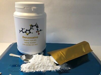 250g _ Benzocaine Powder Excellent & Perfect Grade - Next Day Delivery 24h !!!