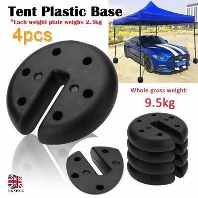 4X Outdoor Canopy Tent Leg Weights Anchor Camping Party Mount Stand UK Stock