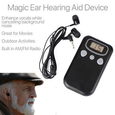 Magic Personal Ear Hearing Aid Device Booster Sound Hearing Amplifier Digital UK