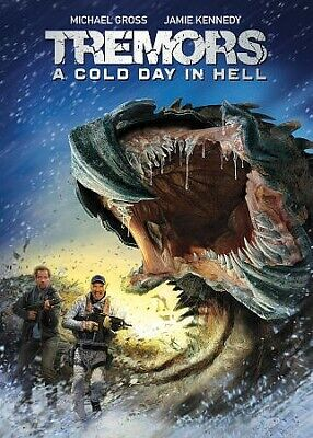Tremors: A Cold Day In Hell, DVD, 2018, UPC 191329023792