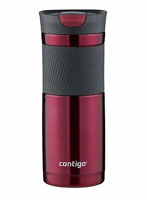 Contigo SnapSeal Byron Vacuum-Insulated Stainless Steel Travel Mug, 20 oz