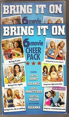 Bring It On All 6-Movie Cheer Pack DVD Collection BRAND NEW