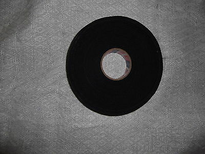 """BLACK MEDICAL TAPE  1 roll  1""""x15yds.  *  FIRST  QUALITY *"""