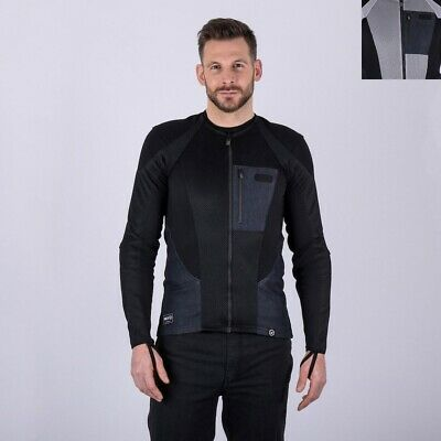 NEW Knox Armour Urbane Pro Men's Armoured Motorcycle Textile Shirt