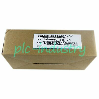 New In Box Yaskawa SGMAH-04AAA61D-OY servo motor One year warranty