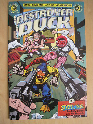 DESTROYER DUCK, issue  3 of the 1982 ECLIPSE series by JACK KIRBY & STEVE GERBER