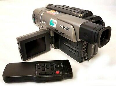 Boxed Sony Handycam Vision Ccd-Trv57E Pal Video Camera + Accessory Bundle