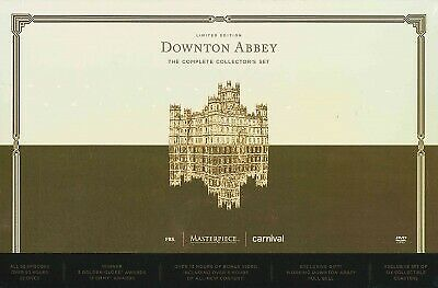 Downton Abbey: The Complete Limited Edition Collector's Set, DVD, 2016, UPC 8...