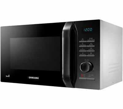Samsung MS23H3125AW Solo 23L 800W Digital Microwave Oven With Enamel Coating