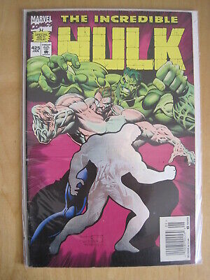 The INCREDIBLE HULK issue 425. FOIL HOLOGRAM COVER. MARVEL, 1995