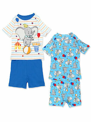 714b1c8bedb52 Disney Dumbo Infant Baby 2fer 4 piece Tee Shorts Cotton Pajamas Set  21DO009YSS