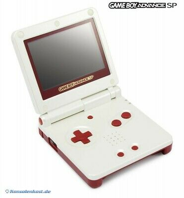 GameBoy Advance console GBA SP + power supply Famicom Color Edt great condition