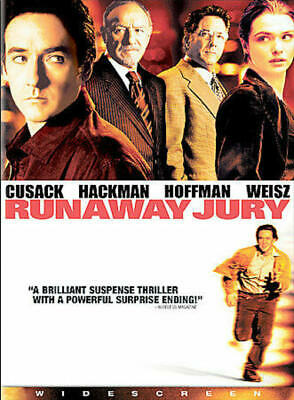 Runaway Jury (DVD, 2004, Widescreen) NEW