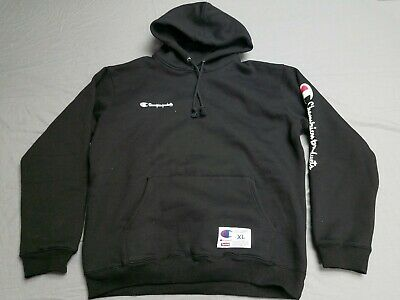 a7e890ad5be3 Supreme Champion FW16 Hoodie Hooded Sweatshirt Black Blk XL Extra Large