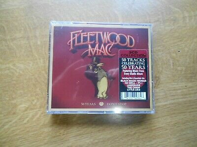Fleetwood Mac,,,50 Years....don't Stop....3Cds