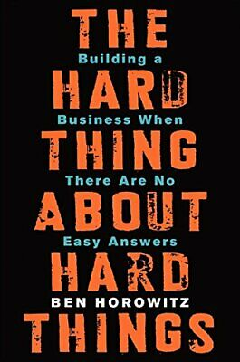 The Hard Thing About Hard Things: Building a Business  📧⚡Email Delivery(10s)⚡📧