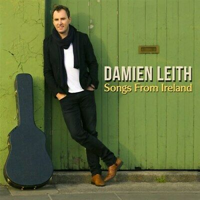 DAMIEN LEITH Songs From Ireland (Personally Signed By Damien) CD NEW