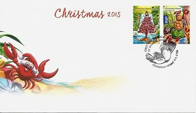 2015 Christmas Island - Christmas First Day Cover FDI