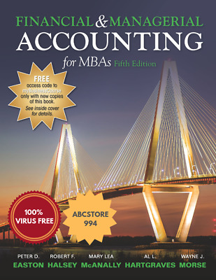 [ P-D-F ] Financial and Managerial Accounting for MBA's 5th Edition