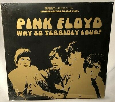 LP PINK FLOYD Why So Terribly Loud? (Inca Gold Swirl Vinyl, 2018) NEW MNT SEALED