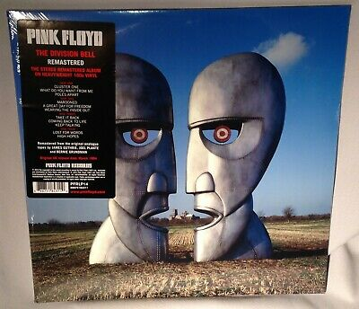 LP PINK FLOYD The Division Bell 2LPs 180 gram 2016 NEW MINT SEALED
