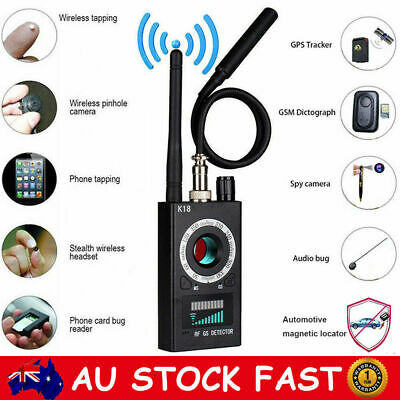 Wireless RF Signal detector Anti-spy Camera GSM Finder GPS Bug Tracker Scanner