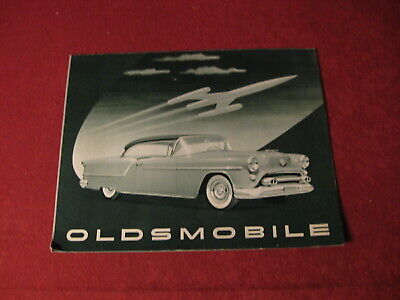 1954 Olds Oldsmobile Showroom Sales Brochure Catalog Old Original Booklet
