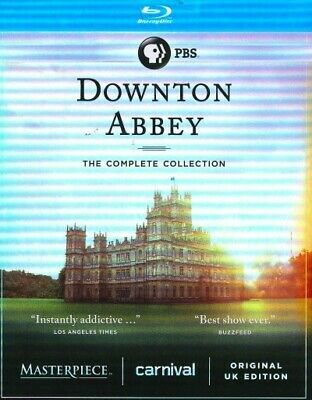 Downton Abbey: The Complete Collection, BRH, 2016, UPC 841887028653