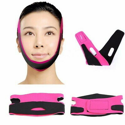 Face V-Line Slim Lift Up Mask Chin Cheek Slimming Strap Belt Anti-Aging Band