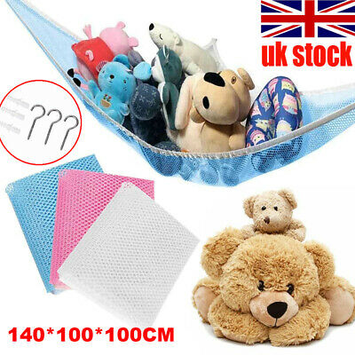 1x Extra Large Soft Toy Hammock Mesh Net Teddy Bear Keep Baby Child Bedroom Tidy