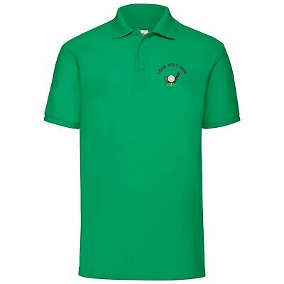 Golf Tour polo shirt with customised embroidered logo! Design 3