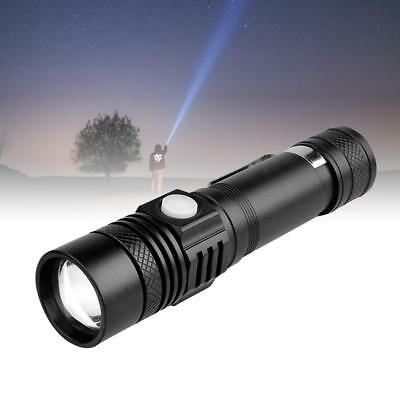 Rechargeable 8000 Lumens Zoomable T6 LED Flashlight 3 Modes 18650 Battery AE